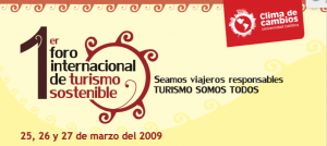 Presentations of the First International Forum on Sustainable Tourism