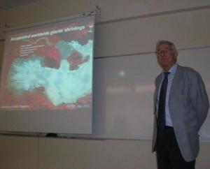 """Konferenz """"Weltliche Beschleunigung der Gletscherschmelze"""""""
